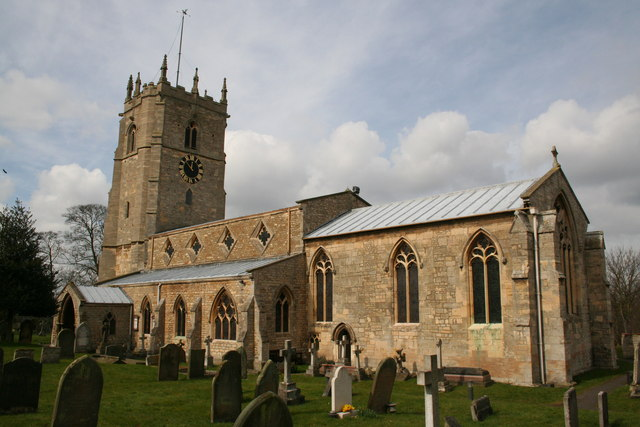 St.John the Evangelist's church, Washingborough, Lincs.