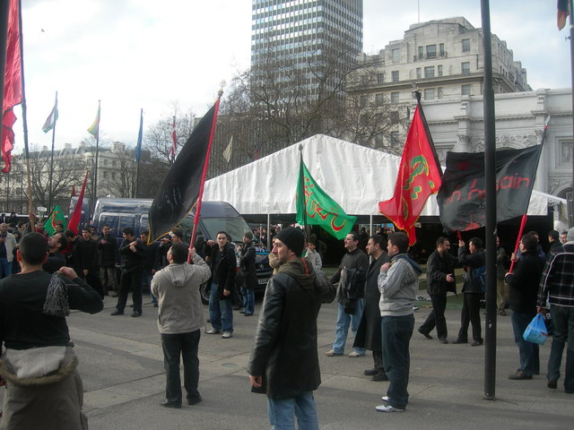 Procession at Marble Arch