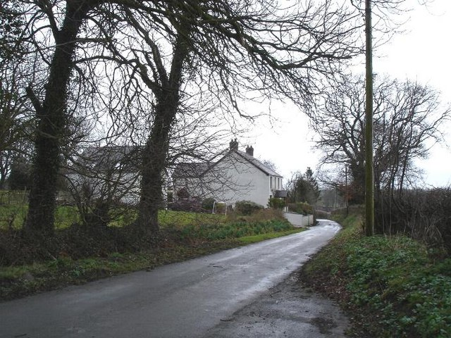 Minor lane near Groes