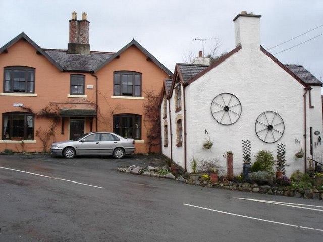 Nantglyn cottages