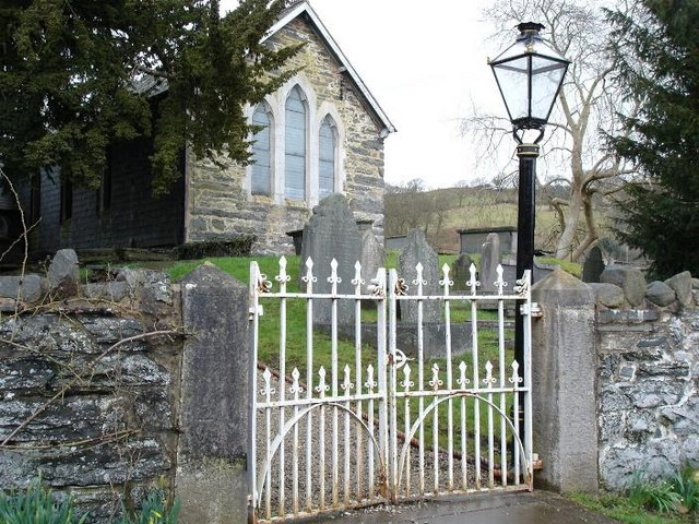 St. James church Nantgyln