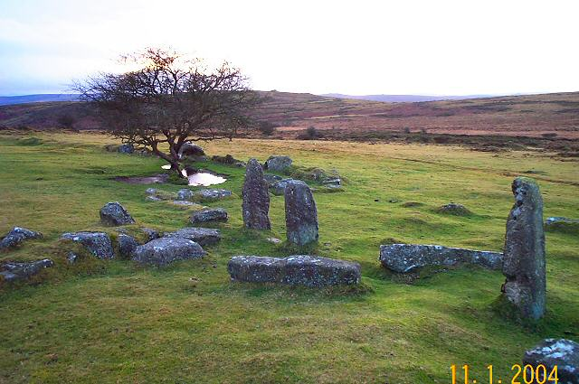 Newhouse Inn ruins - Dartmoor