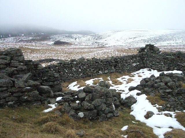 Ruins at Mains of Glenderby