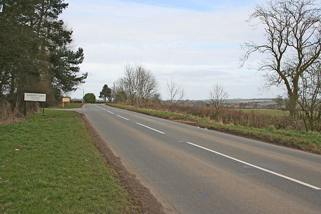 Melton Road near Scalford