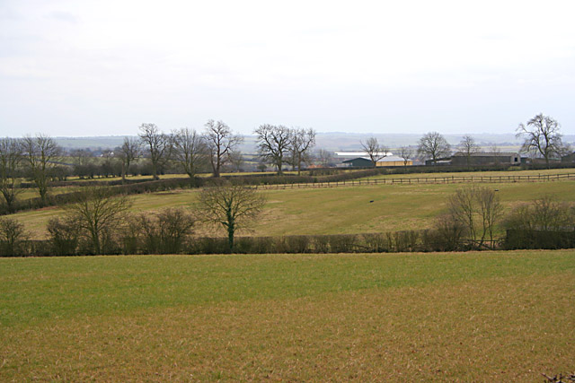 Farmland near Scalford Hall
