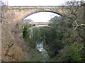 NT7772 : Dunglass Bridge and Viaduct by Lisa Jarvis