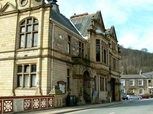 Calderdale Council Buildings, Hebden Bridge
