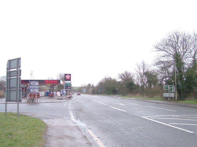 Petrol Station at A4151 with the A48(T)