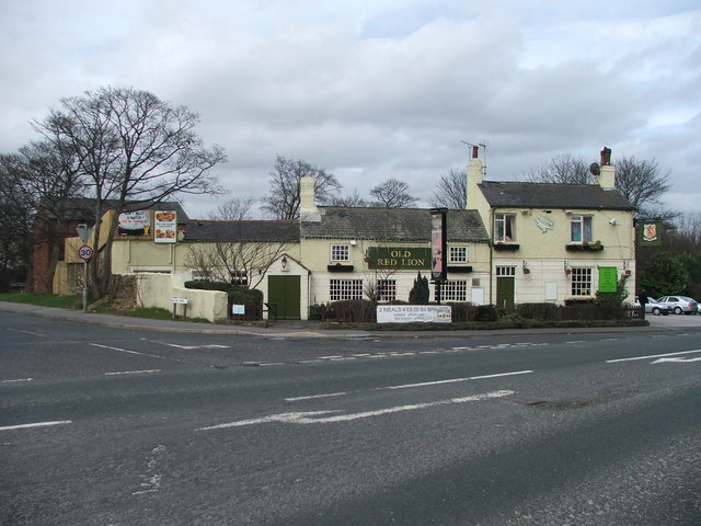 The Old Red Lion.