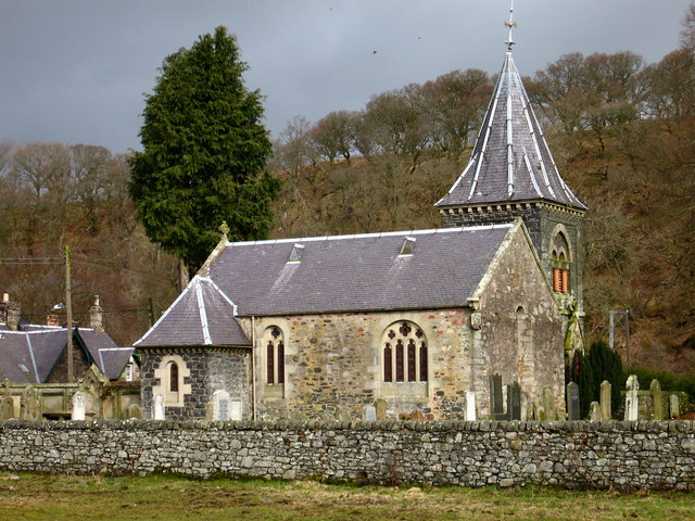 Church at Abbey St. Bathans