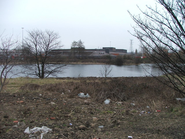 Pond at Stourton.