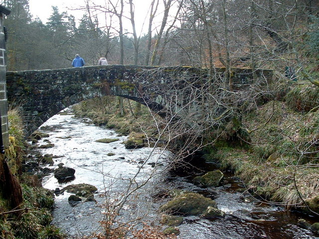 Bridge, Gibson Mill, Hardcastle Crags