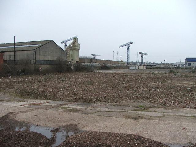 Industrial wasteground at Stourton.