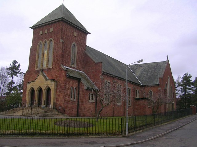 Church of St James the Greater, Kirkshaws, Coatbridge