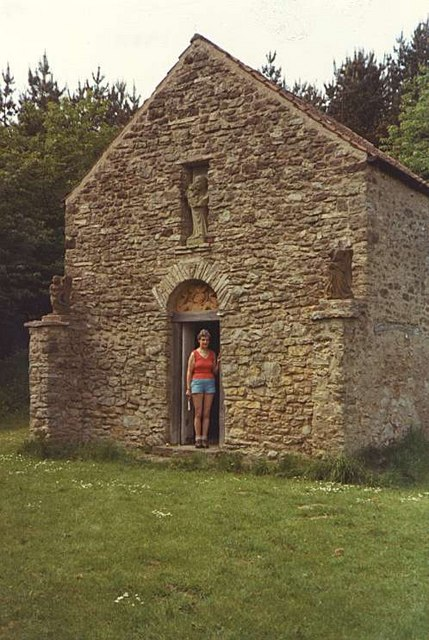 "Secluded Church at ""Scotch Corner"" near to Sutton Bank"