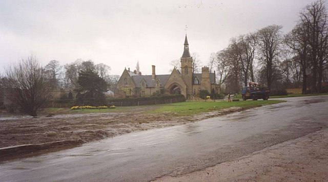 The Church at Newstead Abbey