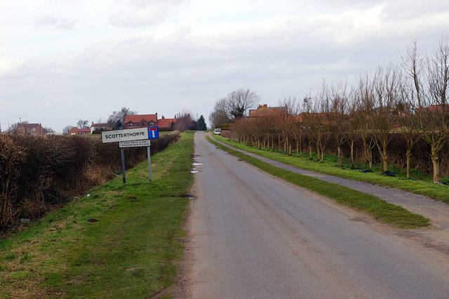 Approaching Scotterthorpe