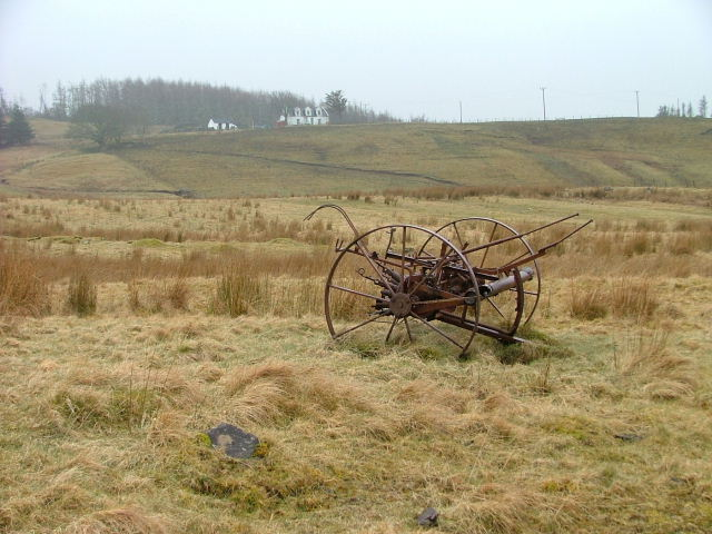 Abandoned Hay Turner in Glen Uig