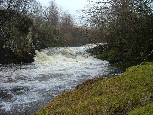 River Conon In Spate