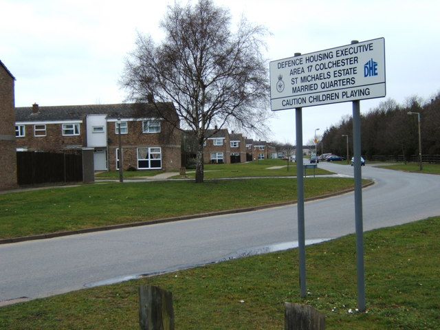 St Michaels Estate, Colchester