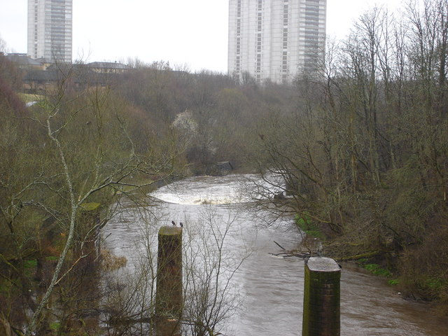 River Kelvin from Forth and Clyde aqueduct
