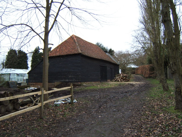 Barn near Olivers