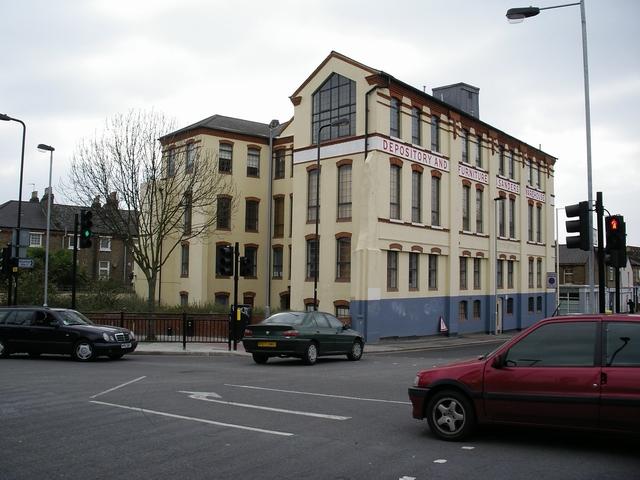 Sanders warehouse, West Ealing, London W13
