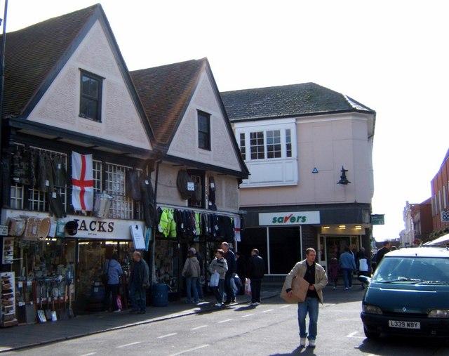 Jacks Stores, Colchester