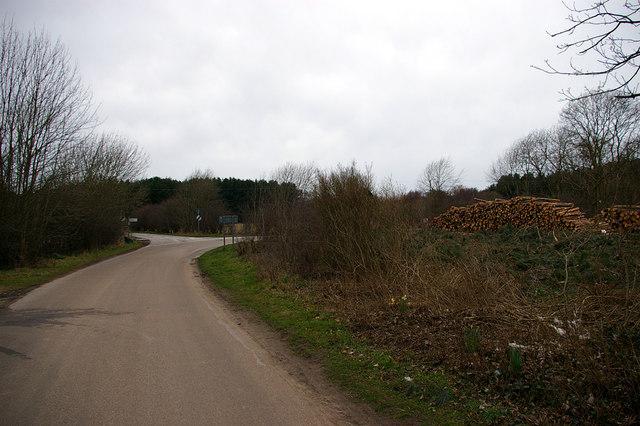 Near Laughton