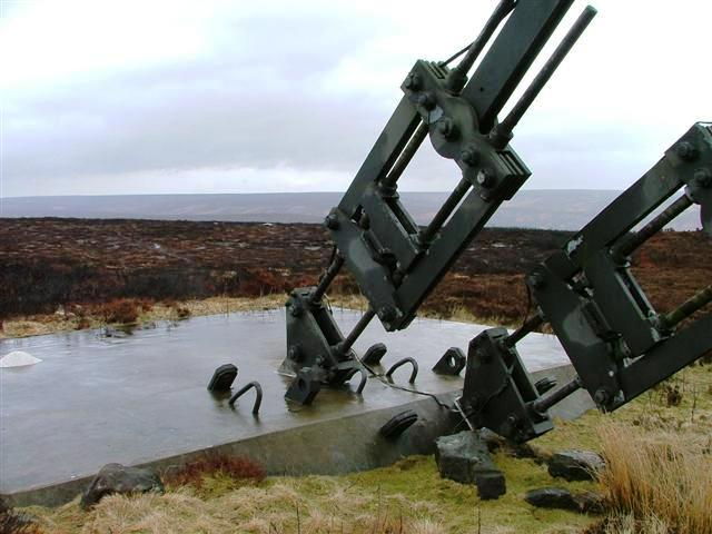 Bilsdale Mast Anchor Point