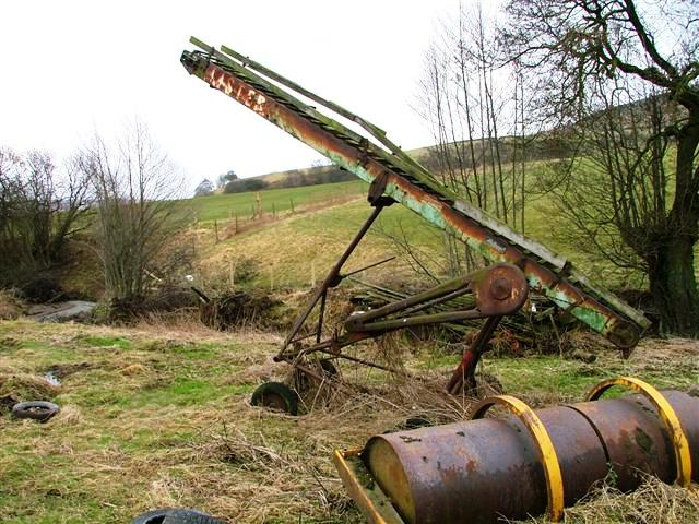Disused Farm Equipment, Low Crookleith Farm