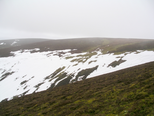 Snow patch, Broom Hill
