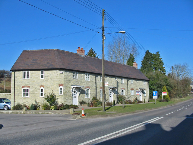 New housing Ludwell Wiltshire
