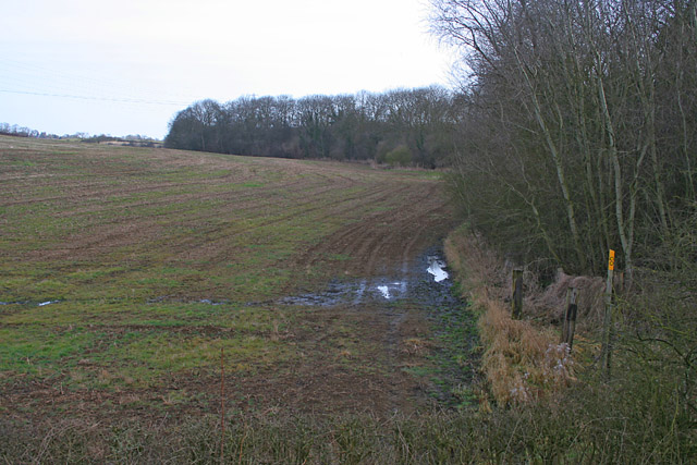 Public Footpath near Potter Hill