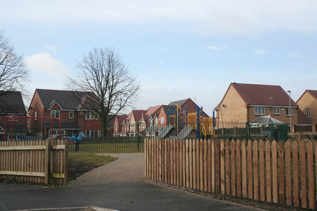 Playground on Horsguards Way, Melton