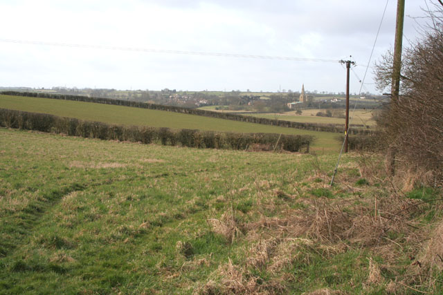 Farmland at Asfordby Hill
