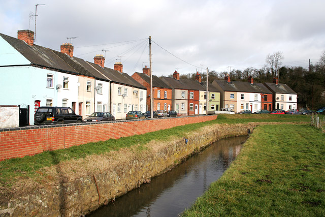 Welby Brook and Brook Crescent, Asfordby Valley
