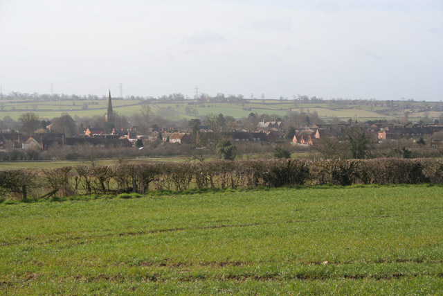 Farmland near Asfordby
