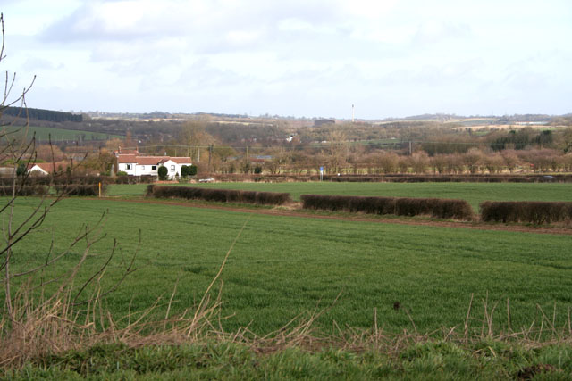 Farmland at Kirby Bellars