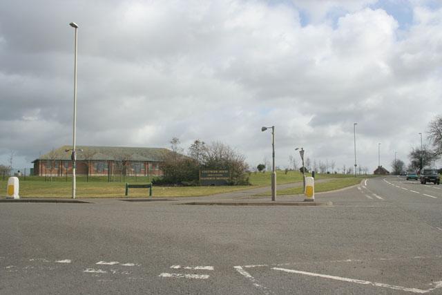 Factory Entrance near Melton Mowbray