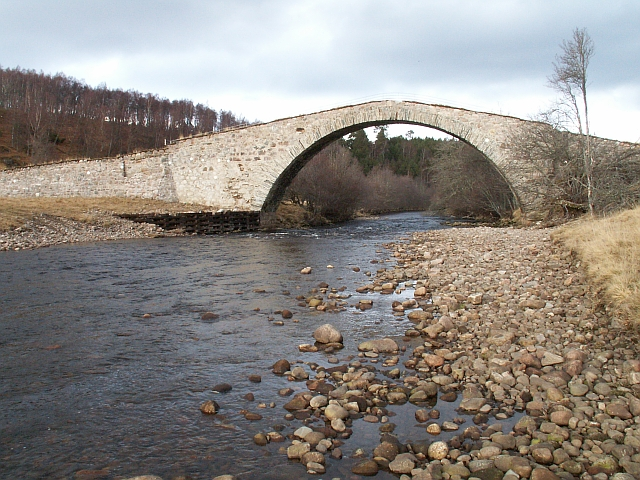 Sluggan Bridge from the south