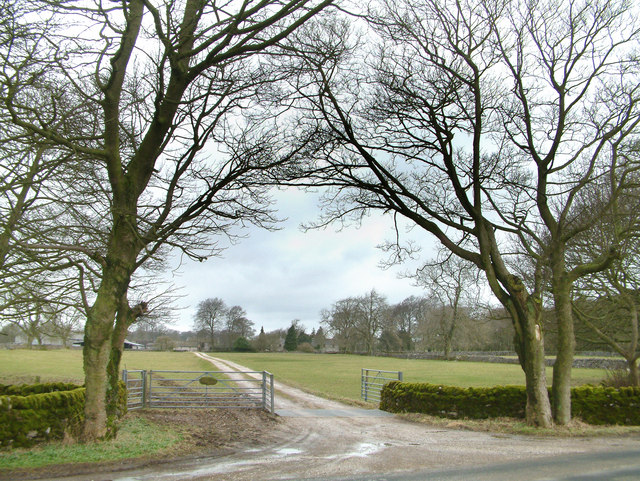 Driveway to The Oldhams.