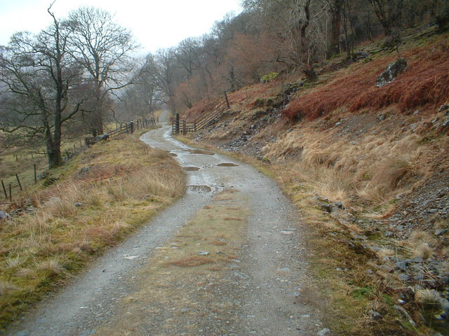 West Highland Way near Beinglas farm