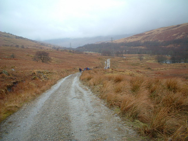 West Highland Way in Glen Falloch