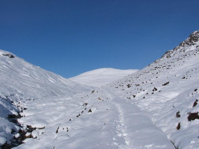 Stalkers' Path up Bealach Cumhann