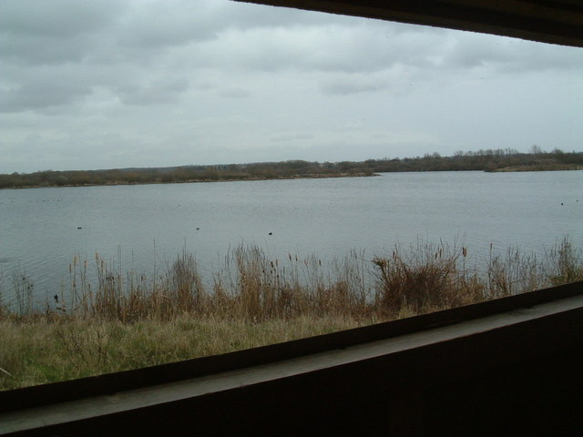 View of Coton Lake From Bird Hide