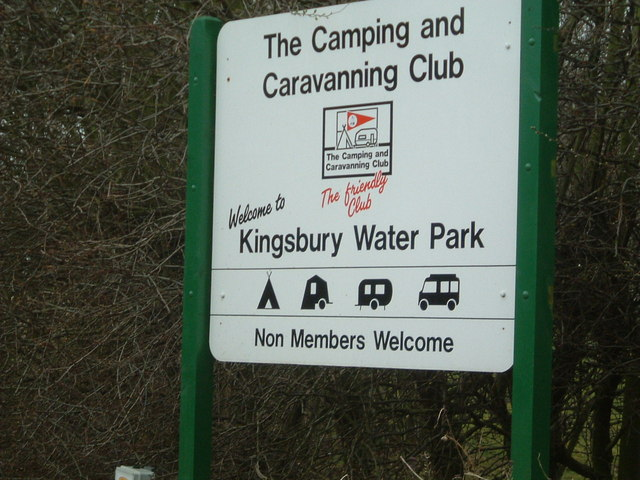 Entrance to Camping and Caravan Club