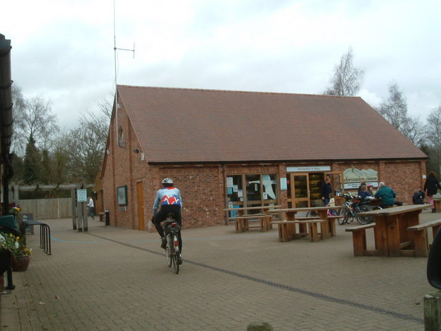 Shop and Restaurant at Kingsbury Water Park