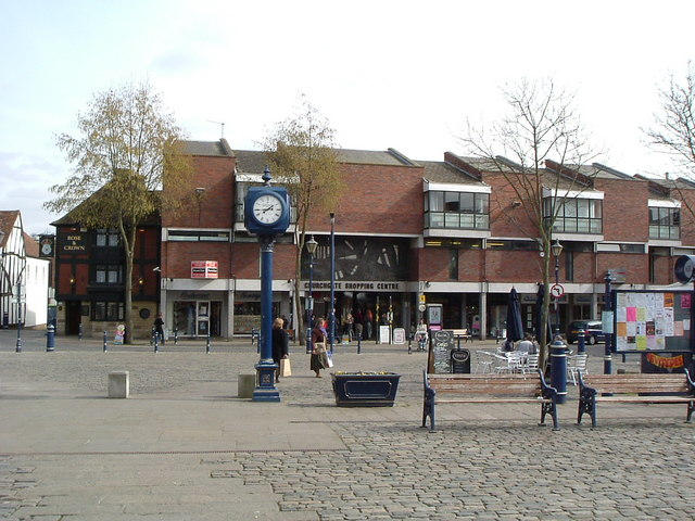 Churchgate Shopping Centre and Old Market Square