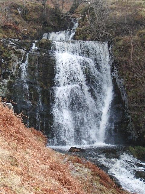 Allt Ollach waterfall